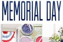 Happy Memorial Day / The best tips and tricks for your very own Memorial Day party or BBQ!
