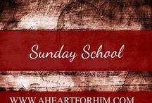 Sunday School / Crafts, Ideas, Printables, and Activities for Bible stories and lessons
