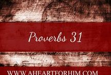 Proverbs 31 / Encouragement and Inspiration for Christian Women