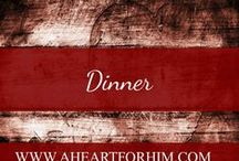 Dinner / Various dinner ideas--quick, cheap, frugal, ethnic, tasty, hearty