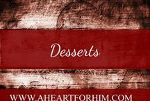 Desserts / Sweets, creamy, dreamy, and decadent pastries, desserts, puddings, and cakes