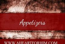 Appetizers / Tasty tidbits to start a meal or entertain guests prior to the main dish