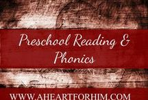 Preschool Reading and Phonics / Printables, Sight Word and Phonics Activities, Ideas to build fluent readers