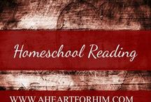Homeschool Reading / Activities, Posters, Printables to teach homeschoolers how to analyze and evaluate literature