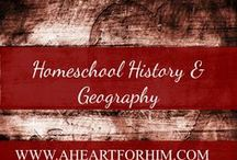 Homeschool History & Geography / Printables, Activities, and Ideas to Bring History and Geography to life