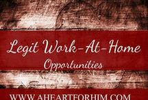 Legit extra money opportunities / Work from home opportunities for those who need flexible work