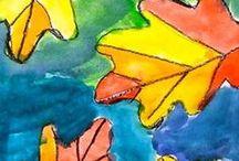 výtvarná výchova - podzim