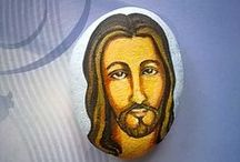 pebbles and stones - Jesus