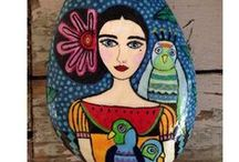 pebbles and stones - Frida Kahlo