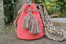 summer handbag / handmade bags, spring bags, colorful bags