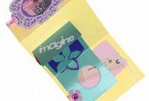 Spring Flower Trifold Pocket Card