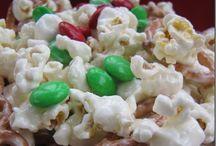 snacks/popcorn,trail mix, etc. / by Sherrie Herrington