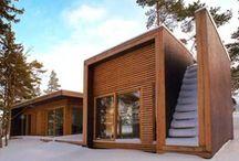 Tiny Houses / Teeny Tiny Houses. Small houses that lessen ones environmental footprint.