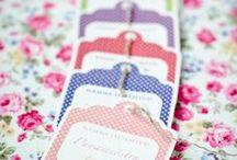 Tags & Packaging / by Sarah Ettlinger