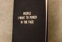 People I'd like to punch in the throat.