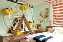 Wonderful Whimsical Rooms / Rooms designed for the young & young at heart