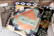 Limited Edition Designer: April Rhodes ✽ / Travel to the Southwest with Arizona by April Rhodes for AGF Limited Edition! / by Art Gallery Fabrics