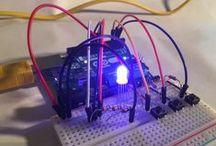 Leds sur un Arduino / Allumer/éteindre - Varier l'intensité - Leds RVB. Switch ON/OFF - Fade intensity - RGB Leds