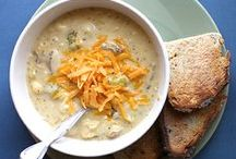 {just delicious} soups + stews / by Jenni Miller