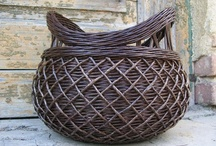 baskets, baskets, baskets / by Peggy White