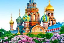 Russia Travel Guide / Russia has no shortage of astounding sights, from the breathtaking beauty of its wilderness regions to the world-class architecture, museums and galleries found in big and small cities of Mother Russia. Moscow | St Petersburg | Russia  | Bucket list | Places | Travel | Travel Photography | Architecture