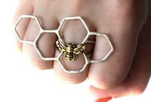 Adorn + Fingers / Rings and hand jewelry / by Doctored Designs