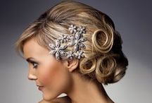 Wedding hair for Beautiful brides / A Selection of classic bridal do's for that perfect big day