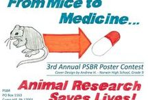 PSBR Poster Contest Winners / Our poster contest gives students the opportunity to illustrate different aspects of biomedical research and science through art. They create a poster on 1 of 5 topics: Animal Research Saves Lives, Animals Helping Animals, Advancements in Biotechnology, Careers in Science, or 3 R's: Replacement, Reduction, Refinement.