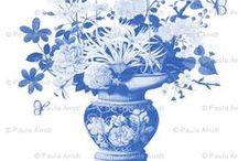 Blue & White / by Laura Brashich