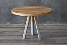 Mix of furnitures by Projekt Drewno / Designed and handmaded furnitures by Projekt Drewno.