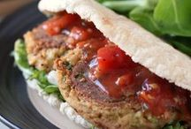 vegetarian: burgers, sausages / by Quince&Pippin