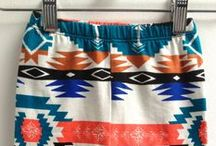 baby bottoms / pants, shorts, and skirts for the boho baby