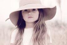 girlie girl / little girls in bohemian wear