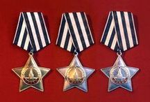 Russian- Medals, Orders / by Ivars Magons