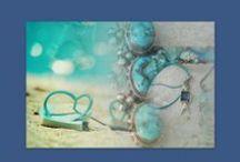 Summertime Earrings / Handmade earrings for summer by Eirini Svarnia