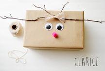 Idées paquets cadeaux etc