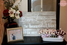 Dream Wedding Favours and Fun Reception Ideas / by Caitlin Molloy