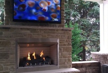 Outdoor Fireplaces / These are some recent outdoor fireplaces we have installed.