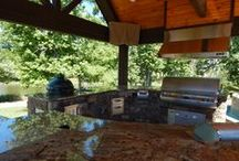Outdoor Kitchens / These are pictures of current outdoor kitchens we have completed.