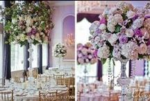 Reception Décor Ideas / Need ideas for the perfect centerpiece or placecard table? Look no further!