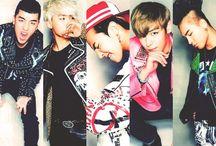 Big Bang / GD, T.O.P, Taeyang, Daesung and Seungri.  Mainly Seungri actually