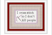 Cross stitch / by Tamara Bernabei