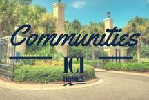 Communities by ICI Homes / ICI offers a wide variety of home models in communities across the state of Florida!
