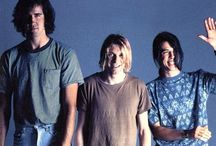 Nirvana / Kurt Cobain, Krist Novoselic and Dave Grohl  / by Damien Guillon