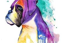 Artisitc Boxers / Beautiful drawings, paintings, mugs, posters, words... oh long, long list