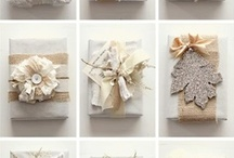 burlap gifts / by burlap projects