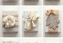 burlap gifts