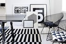 Bedroom Inspiration - Black and White