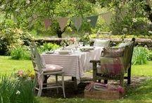 Summerhouse and cottage garden