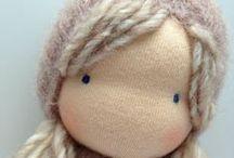 Cuddling dolls waldorf inspired / Knuffels gemaakt door Ollebol & Muis Cuddling dolls made by Ollebol & Muis